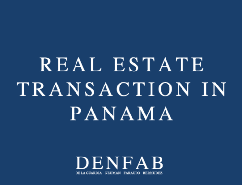Making a Real Estate transaction in Panama