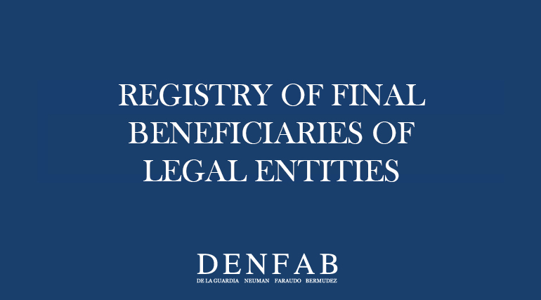 Registry of Final Beneficiaries of Legal Entities